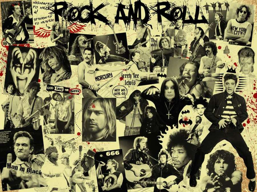 rock'n roll and rock music